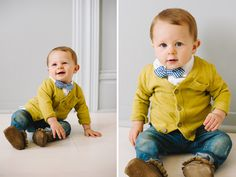 Darling boys bow ties by Colins Closet!