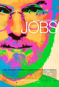 Jony Ive designed Jobs movie poster. Irony: this is the actual poster. Credit: dozens of people whove sent this to me.