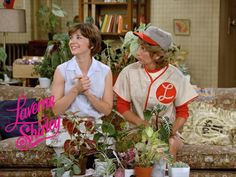 5) favorite old tv show - Laverne & Shirley