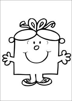 Mr. Men Tegninger til Farvelægning. Printbare Farvelægning for børn. Tegninger til udskriv og farve nº 27