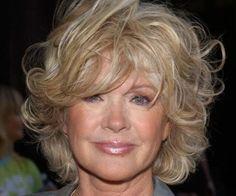 #curlyhairstyle for older women #hairstylesforwomenover50