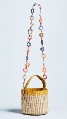 Nannacay Nina Crocus Bucket Bag - Most Beautiful Bag Models 2019 Knitted Bags, Crochet Bags, Knit Bag, Bucket Bag, Kate Spade Handbags, Summer Bags, Kids Bags, Handmade Bags, Beautiful Bags