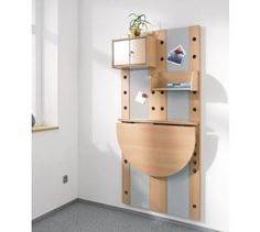 Wall Mounted Panel With Folding Table By HABA, 473929 More