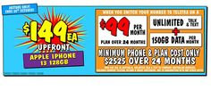 Telstra Mobile Plan $69/Month for 12 Months, 80GB + $400 JB Hi-Fi Gift Card @ JB Hi-Fi (in-Store Only) Phone Plans, 12 Months, Apple Iphone, How To Plan, Cards, Maps, Playing Cards