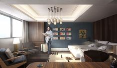 3d Architectural Rendering, 3d Architectural Visualization, 3d Visualization, 3d Rendering Services, Corner Desk, Real Estate, Architecture, Book, Interior
