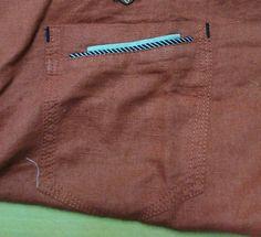 Casual Pocket Detailing Chambray Shirts, Casual Shirts, Mens Shirt Pattern, Pocket Pattern, Men Shirt, Manish, Pocket Detail, Boys Shirts, Shirt Style