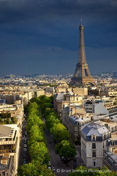 Eiffel Tower, Paris France. © Brian Jannsen Photography