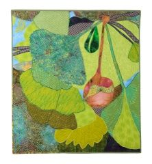 'Gingko I' quilt from Botanical Works by Susan Bass
