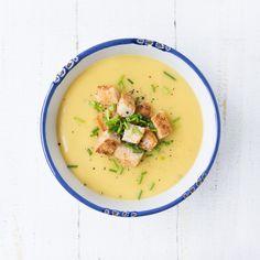 Blumenkohl-Pastinaken Suppe - The Vegetarian Diaries
