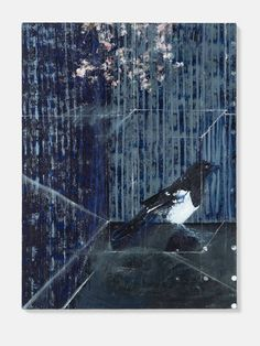 Damien Hirst The Magpie 2010 Oil on canvas 1016 x 762 mm   40 x 30 in