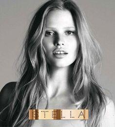 Lara Stone Stella McCartney parfüm kampanyasında