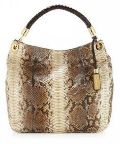 Michael Kors Skorpios Large Shoulder Bag Snake-print - | Michael Kors  Discount Sale,