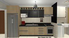 cozinha de apartamento MRV