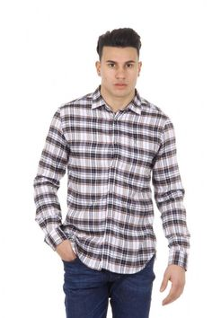 Multicolor L Diesel mens shirt long sleeve SAUSAN 129 Diesel Mens Shirts, Casual Shirts, Long Sleeve Shirts, Men Casual, Mens Tops, Shopping, Collection, Color, Women