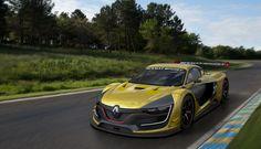 Piloto foi convidado pela Renault Sports para testar o novo modelo ainda protótipo, o projeto fará parte de uma nova categoria a Renault R.S.01 Sports Trophy que correrá junto com a World Series