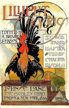 """Lilliput Lyrics"" - Charles Robinson by docarelle (away for a while), via Flickr, Rooster"