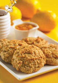 Our Blog... CARADIDI: EASY HEALTHY RECIPES -- Lemon Drop Scones
