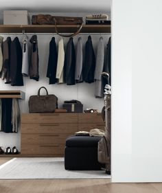 Jesse - Mobili Arredamento Design - PLURIMO SISTEMA ARMADI - cabina armadio