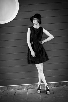 Megan von de vintage shoot by Peter Berzanskis Frocks, Editorial, Photoshoot, Shoes, Vintage, Black, Dresses, Fashion, Vestidos