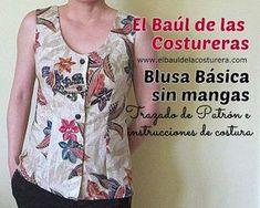 Confección de Blusa Básica sin Mangas | EL BAÚL DE LAS COSTURERAS
