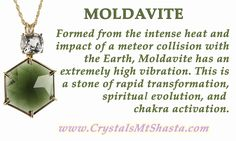 Crystal of the Day - Moldavite