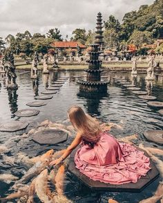 I could spend all my mornings in Bali like this 🧡 ⠀ ⠀ Tirta Gangga, Bali, Indonesia 🇮🇩 📸: ⠀ ⠀ ⠀ Oh The Places You'll Go, Places To Visit, Bali Holidays, Beautiful Places To Travel, Bali Travel, Travel Goals, Travel Inspiration, Travel Destinations, Travel Photography