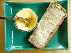 Is there anything better than homemade bread and butter? Mom In Madison shows an easy way to make homemade butter that even your littlest ones can participate in. Berlin's Whimsy has a Crunchy Daily Bread recipe that can be made. Smoothies For Kids, Fruit Smoothies, Bread Recipes, Snack Recipes, Snacks, Diabetic Recipes, Burritos, Pioneer Crafts, Irish Soda Bread Recipe