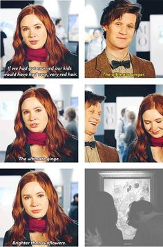 """Doctor Who """"The ultimate ginger"""""""