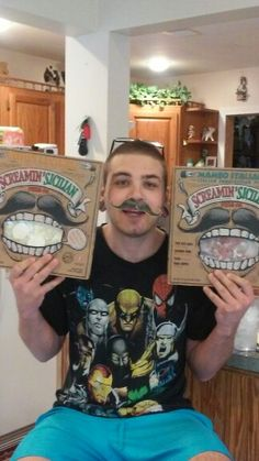 Free Scream Sicilian pizzas for us with coupons to share for a pizza thats loaded with large & generous amounts of toppings.   #GotitFree for being a #bzzagent. (This is my son Raymond)