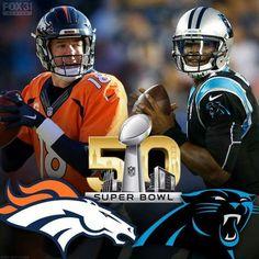 NFL Super Bowl 50 Footballs Gear #denverbroncos #carolinapanthers