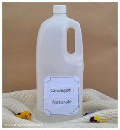 Se cercate un'alternativa alla candeggina presente in commercio, perchè amate i prodotti naturali che non inquinano e sopratutto non so...
