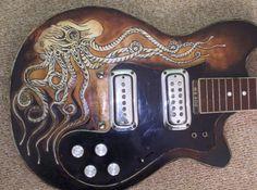 Octopus guitar
