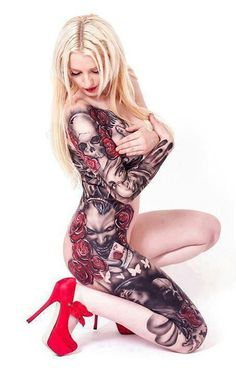 great full body sleeve.