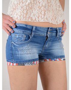 Γυναικεία Ρουχα End Of Season Sale, Summer Shorts, Denim Shorts, Seasons, Womens Fashion, Clothes, Shopping, Style, Outfits