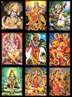The religion of Hinduism is one that is a polytheism. Hindus believe in multiple gods that each have a story to represent their aspect in the world. Stories are spread through many books, however; the Mahaburata tells all the stories. Unlike Hinduism, the Islamic religion is monotheistic. Muslims believe in only one God, Allah.