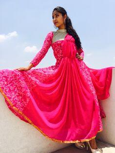 Hot pink.... Created at MONSUMMER by Monica Mandappa