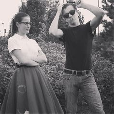 Sock hop girl | 15 Halloween Costumes Inspired By The 1950s