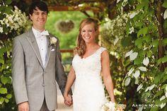 First look moment at Zukas Hilltop Barn Wedding in Spencer, MA | Aaron Huniu Photography | #firstlook #wedding #firstlooks