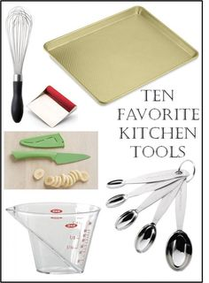 Love this list of must have kitchen tools for people who love to cook.