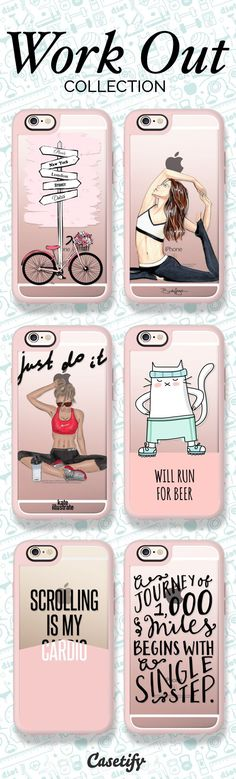 Time for a work out! Shop our newest Work Out Collection here: https://www.casetify.com/collections/workout#/