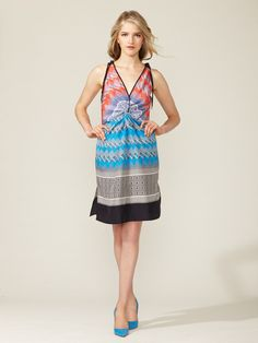 Derek Lam's silk knot dress is a breath of fresh air on the last of these hot summer days.  #amyesperstyling Silk Knotted Front Dress