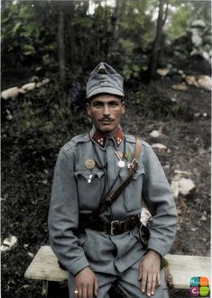 Austro-Hungarian Zugsfuhre Karoly Szigeti, of the 2nd Howitzer Battery/7th Mountain Artillery Regiment, 50th Field Artillery Brigade, 5th Army. Isonzo Front, 1915.