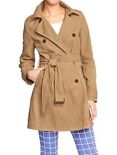 Women's Classic Trench Coats | Old Navy