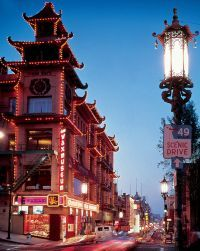 "Guide to San Francisco. Chinatown. The largest ""chinatown"" outside of Asia"