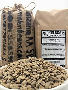 5 LBS TANZANIA AA IN A BURLAP BAG  Farm Tembo Coffee VarietalBourbonTypica Washed Notes BurgundyPearTangerine  SpecialtyGrade Green Unroasted Whole Coffee Beans for Home Coffee Roasters >>> Continue to the product at the image link.