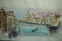 www.academiataure.com #watercolors#painting #venice