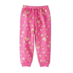 Garanimals Baby Toddler Girls' Print Fleece Sweatpants
