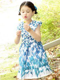 mama says sew: Fields of Flowers Dress