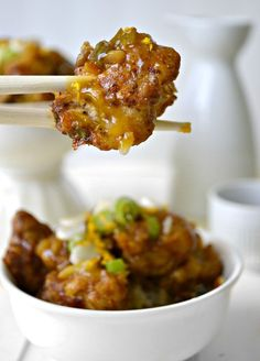 Crispy Orange Cauliflower - A vegetarian version of your favorite Chinese dish.