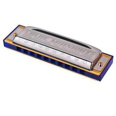 Hohner Blue Midnight Harmonica (G) - http://musical-instruments.goshoppins.com/harmonicas/hohner-blue-midnight-harmonica-g/